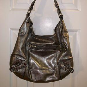 Handbags - Michael Kors Silver Shoulder Bag